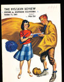 1941 10/11  USC vs Oregon  football Program