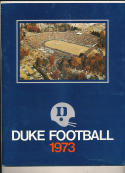 1973 Duke Football Guide - bx73