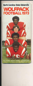 1973 North Carolina State Football Guide - bx73