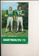 1973 Dartmouth Football Guide - bx73