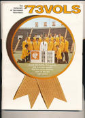 1973 Tennessee Vols Football Guide CFBmg5