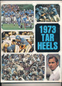 1973 North Carolina Football Guide CFBmg5
