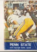 1975 Penn State Cotton bowl Football Bowl press guide CFBmg7