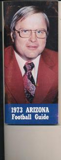 1973 Arizona Football Guide CFBmg5