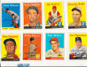 1958 Topps Signed 244  Don Demeter Los Angeles Dodgers