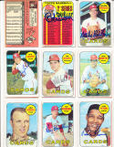 Dave Ricketts 232  st. Louis Cardinals  Signed 1969 Topps Card