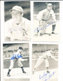 Jim Reninger Philadelphia Athletics real photo signed Post Card