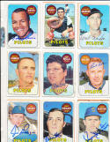 Jim Gosger 482  Seattle Pilots  Signed 1969 Topps Card white letter version