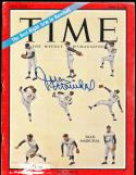 1966 6/10 Juan Marichal Giants Time Magazine SIGNED AUTOGRAPH
