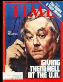Pat Movniham 1/26 1976 Time Magazine SIGNED AUTOGRAPH