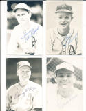 Hal Epps Philadelphia Athletics signed Post Card portrait