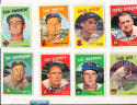1959 Topps Signed  324 Don Demter Los Angeles Dodgers em (gum stain)