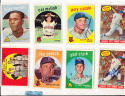 1959 Topps Signed 445 Cal Mclish Cleveland Indians