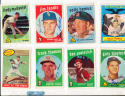 1959 Topps Signed 490 frank thomas Cincinnati Reds