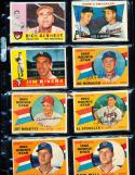 1960 Topps Signed 116 Jim Rivera Chicago White Sox em