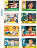 1960 Topps Signed 259 George Altman Chicago Cubs signed front and back