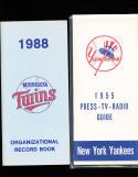 1988 Minnesota Twins Organizational Record Book
