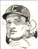 1943 Eddie Miller Cincinnati Reds The Sporting News original art work