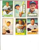 1952 Topps Sid Hudson 60 Washington Senators card black back