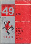 1963 San Francisco 49ers Media Guide, Excellent