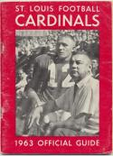 1963 St Louis Cardinals Media Guide, Very Good / Excellent