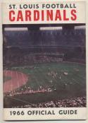 1966 St Louis Cardinals Media Guide, Excellent Mint