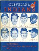 1955 Cleveland Indians yearbook picture book nm