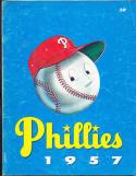 1957 Philadelphia Phillies Yearbook