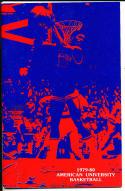 1979-1980 American Universiy Basketball Press Media Guide