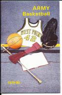 1979-1980 Army Basketball Press Media Guide