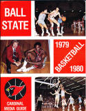 1979-1980 Ball State Basketball Press Media Guide