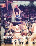 1979-1980 Boise State Basketball Press Media Guide