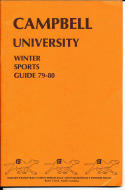 1979-1980 Campbell University Basketball Press Media Guide