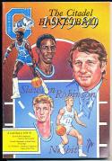 1979-1980 Citadel Basketball Press Media Guide