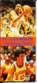 1979-1980 Clemson  Basketball Press Media Guide