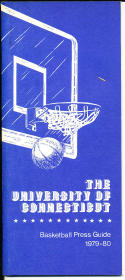 1979-1980 Connecticut Basketball Press Media Guide