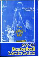 1979-1980 Delaware college Basketball Press Media Guide