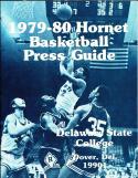 1979-1980 Delaware State college Basketball Press Media Guide