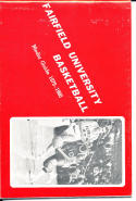 1979-1980 Fairfield Basketball Press Media Guide