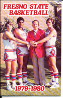 1979-1980 Fresno state  Basketball Press Media Guide