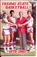 1979-1980 Fresno state  Basketball Press Media Guide