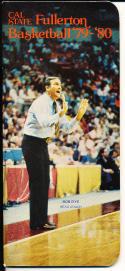 1979-1980 Fullerton cal state  Basketball Press Media Guide