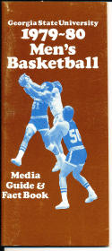 1979-1980 Georgia State Basketball Press Media Guide
