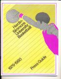 1979-1980 Hardin-Simmons Basketball Press Media Guide