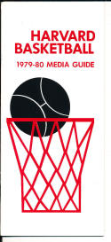 1979-1980 Harvard Basketball Press Media Guide