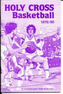 1979-1980 Holy Cross Basketball Press Media Guide