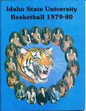 1979-1980 Idaho State University Basketball Press Media Guide
