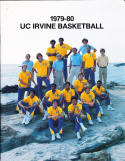 1979-1980 Irvine UC university Basketball Press Media Guide