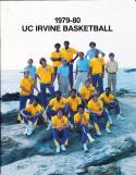 1979-1980 Irvine UC university Basketball Press Media Guide