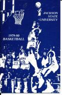 1979 - 1980 Jackson State Basketball Press Media Guide bkbx15